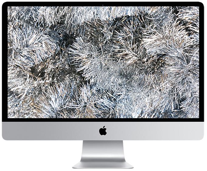Holiday Tinsel Wallpaper Download