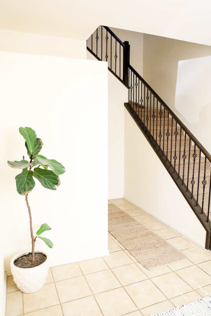 #ChangingSpaces \\ A Botanical Entryway Makeover For Spring