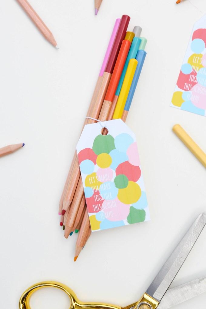 #ProperPrintables \\ Back To School Printable Polka Dots