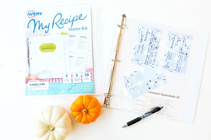 #ProperPrintables \ Ghosty Printable Recipe Cards