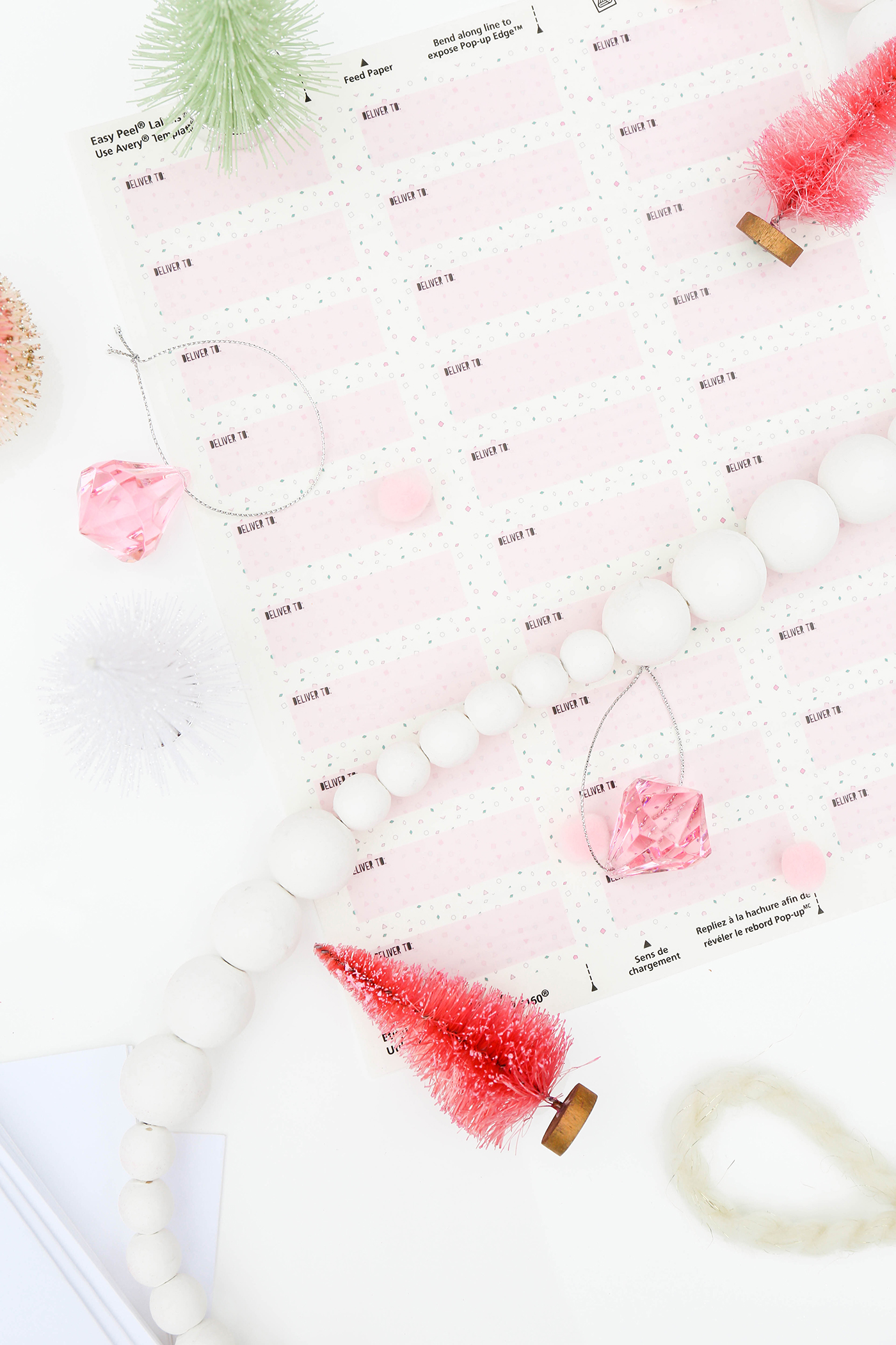 sending wedding invitations months before%0A  ProperPrintables  u     Printable Holiday Mailing Labels To Address All Your  Cards This Year