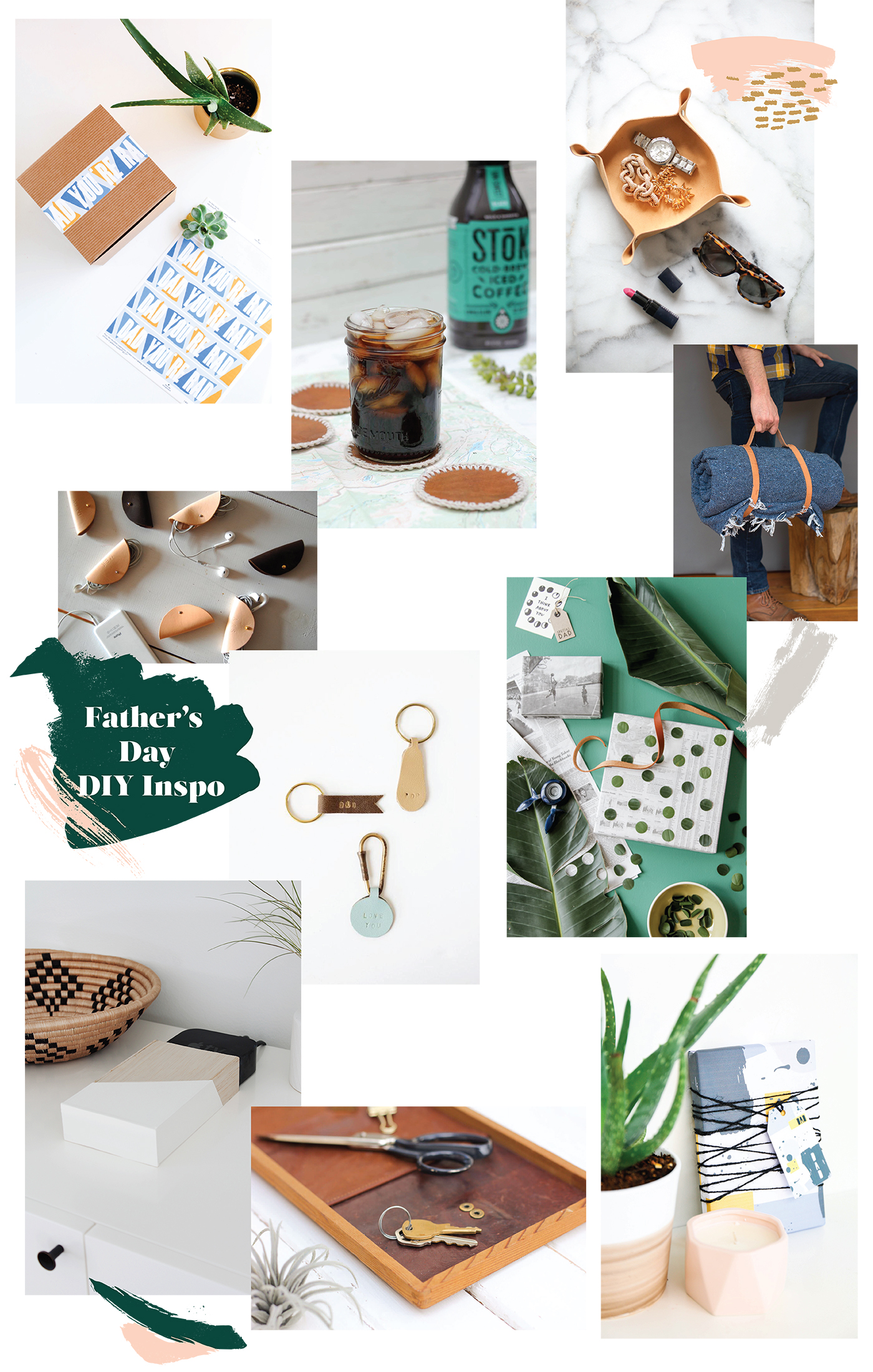 A Roundup Of Last Minute Fathers Day #Diy Projects Made
