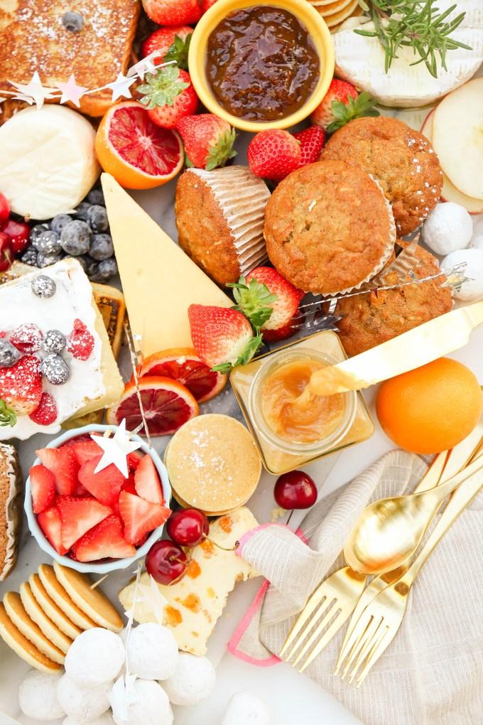 #TasteIt \\ A New Year's Day Brunch Board