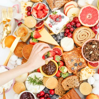 #TasteIt \\ A New Year's Day Brunch Board
