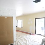 The Evolution of Our Living Room pt 1 \\ What We Started With and Choosing A White Paint