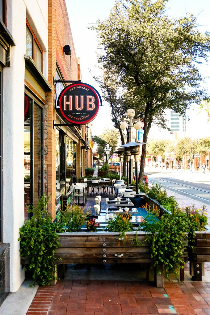 Hub restaurant downtown Tucson