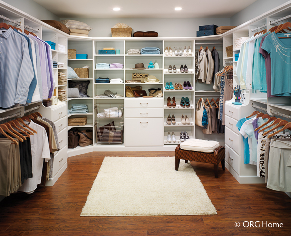 Custom Closet Systems Organization In Johnson City TN - High end closet design