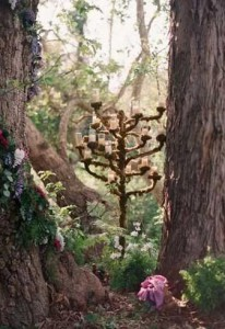 The Proposers would find a secluded woodland venue which we would decorate with Midsummer night's dream themed props