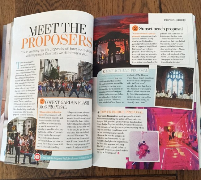 Two pages all about us!
