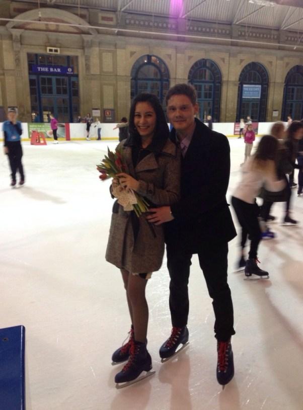 Serban & Iulia - An Ice Skating Proposal