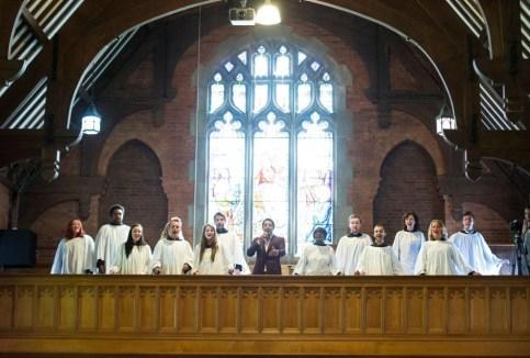 The amazing choir.