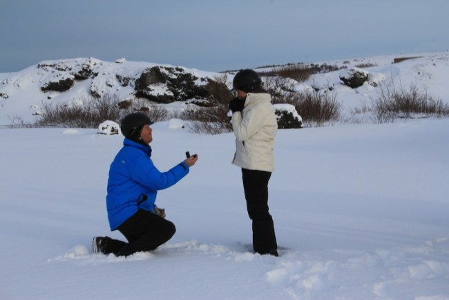 The Proposers have even created a proposal in Iceland!!