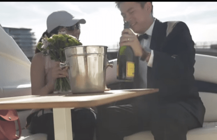 James Bond themed marriage proposal planned by proposal planners, The Proposers