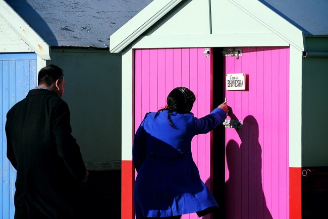 Bhavesha had no idea what The Proposers had created when she saw her name on the door of the beach hut...