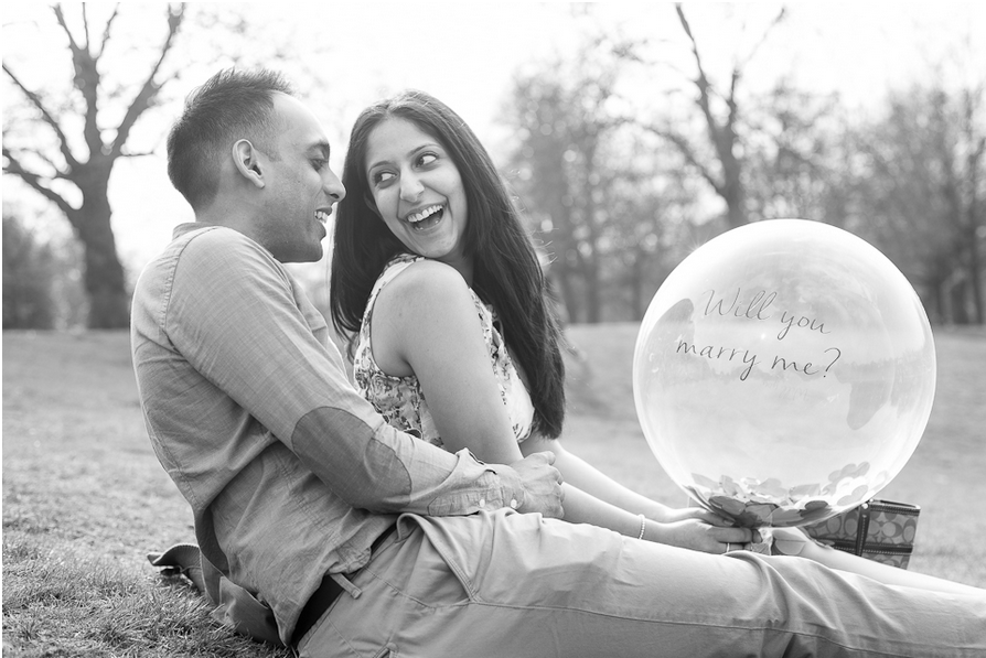 The couple with the balloon