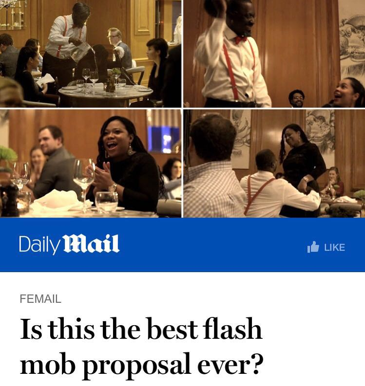 The Best Flashmob Proposal Ever The Proposers