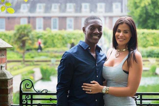 Romantic marriage proposal in Kensington Palace Gardens planned by proposal experts, The Proposers