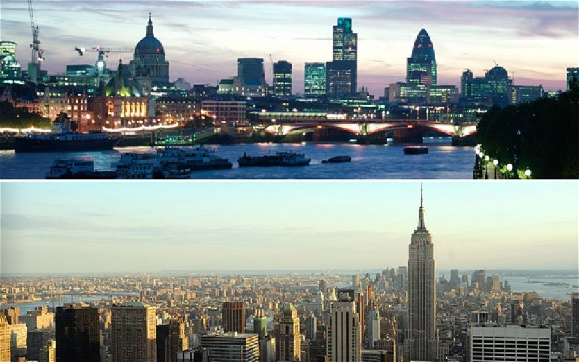 london v new york 2155128b