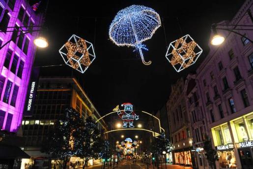 christmas lights oxford street 2012