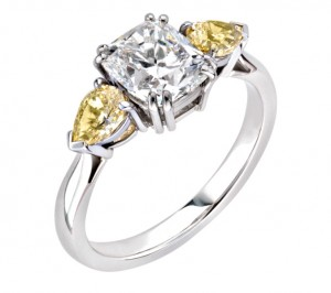 Have the perfect ring! We adore this three stone ring from Pravins. We can even help you pick out the ring, get in touch and we can send you our FREE engagement ring guide!