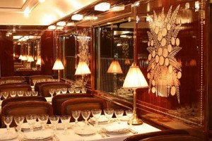 Best place t o propose: Orient express