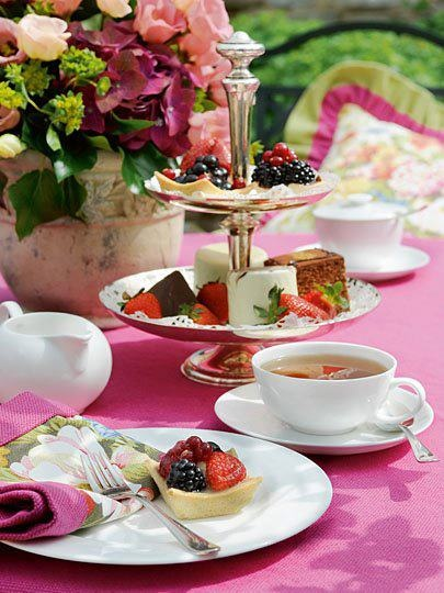 How about a cute afternoon tea to set the scene?