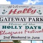 16th Holly Bluegrass Festival set for June 8-10