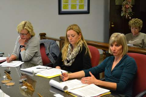 PUMA Representatives, L-R: Anna Jones, Erin Lyng and Erika Heller