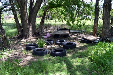 A Campground Made of Tires