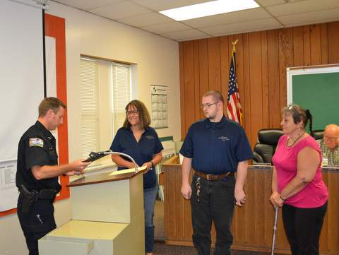Citizen's Academy Graduates: Gearhart and Ivan and Ramona Cheasebro