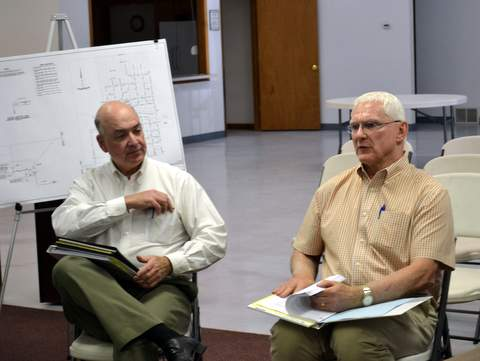 Tom McClernan and David Frisch of GMS Inc.