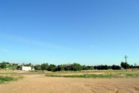 Site for Siren Near VFW Hall on Memorial Drive