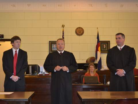 Judges Porter, Brinkley and Davidson