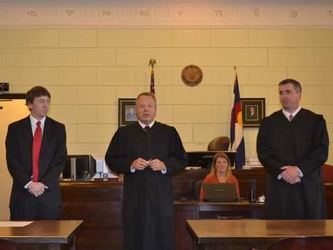 Judges Porter, Brinkley and Davidson