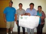 Evan Reed Receives Scholarship