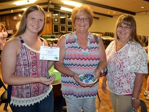 $200 Winner Amy Kessler with Darla Klotz and Toni McPherson