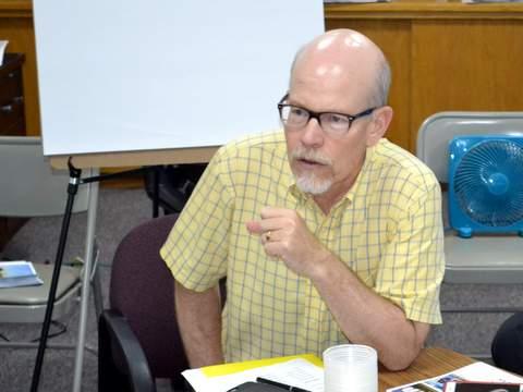 Brad Segal Addressing PCDI Board