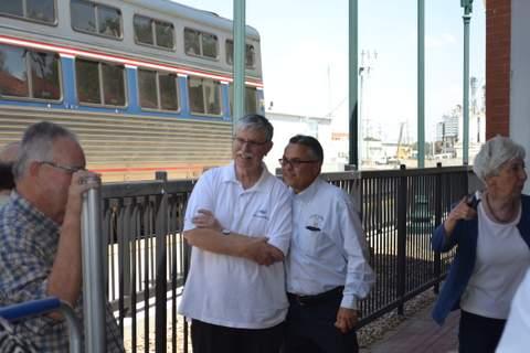 Joe Boardman and Rick Klein, La Junta City Managerf