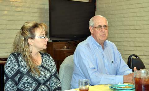 Anne-Marie Crampton and Lawrence Brase, Board Members
