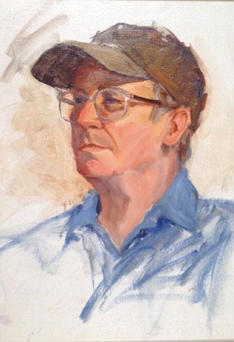 Portrait of Radeaux by Teresa Vito