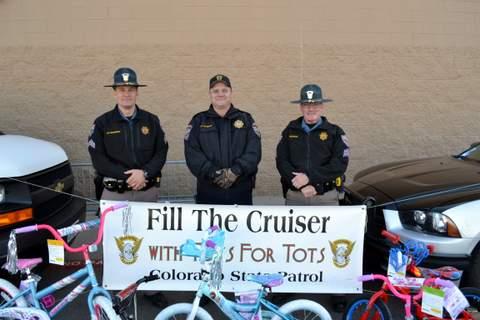 Officers Branniman, Dieterle and Gilmore