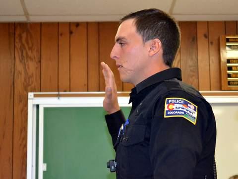Lamar Police Officer Austin Peck