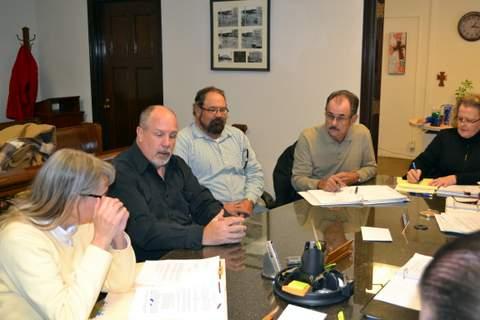 Doug and Mark Carrigan, Tom Grasmick and Darla Scranton Specht