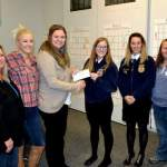 District FFA Receives Funds for Farm-City Service