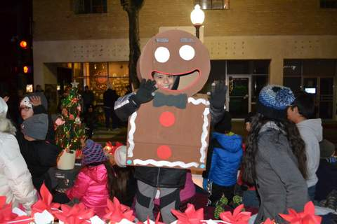Gingerbread Man Swallowed a Kid
