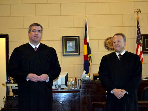 Judges Davidson and Brinkley