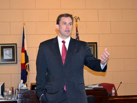 District Atty Joshua Vogel