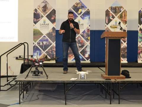 Daniel Melia and Drones