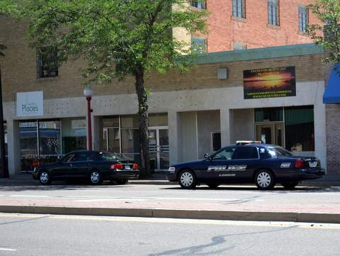 Main Street Traffic Stop