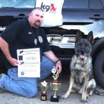 Lamar K9 Dante Places High in Competition
